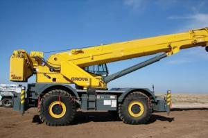 Grove_RT890E_90ton_Rough_Terrain_Crane