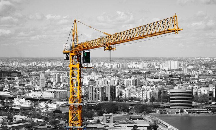 instalación de grúa torre