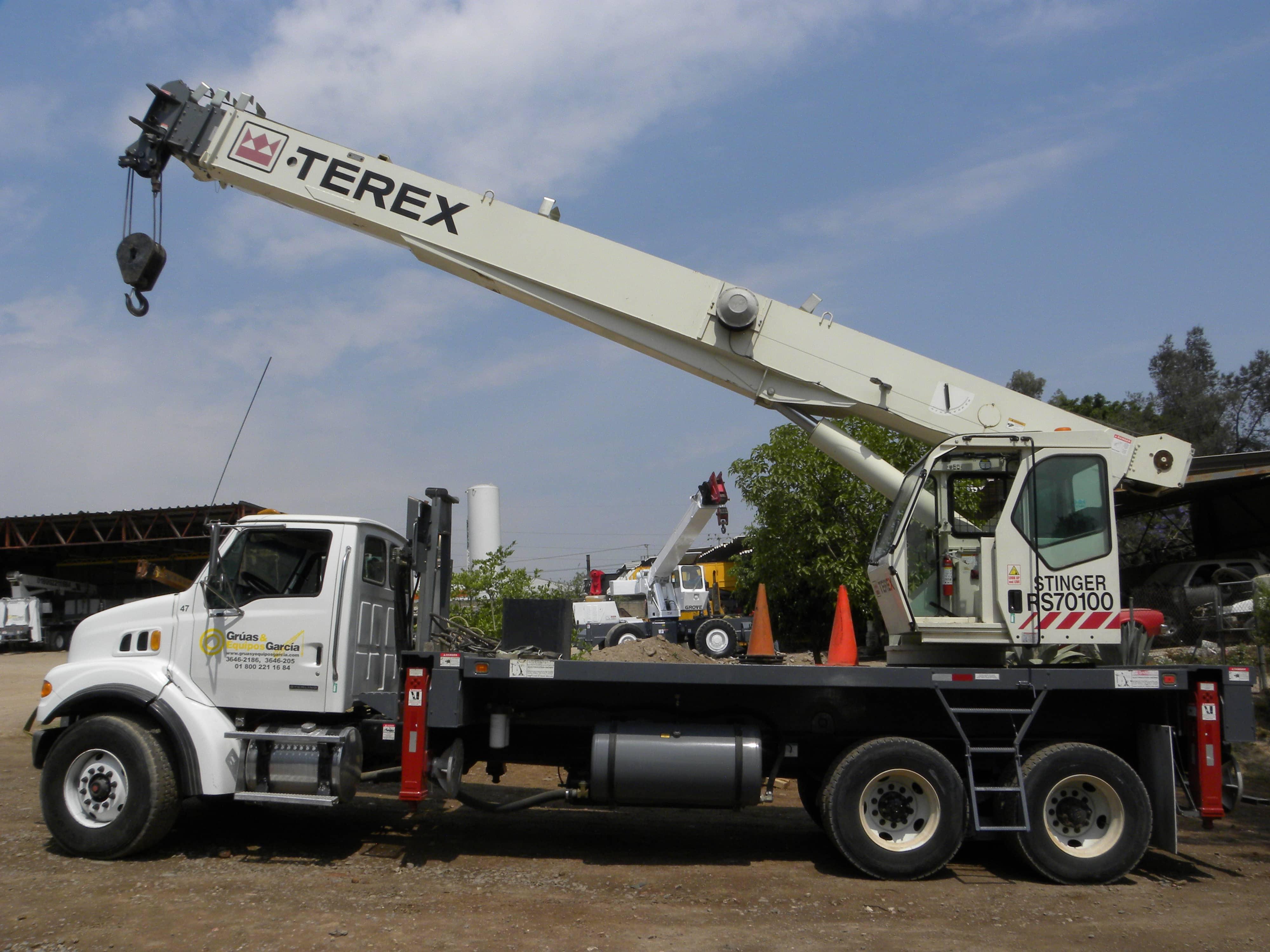 TEREX RS 70100 35 TONELADAS