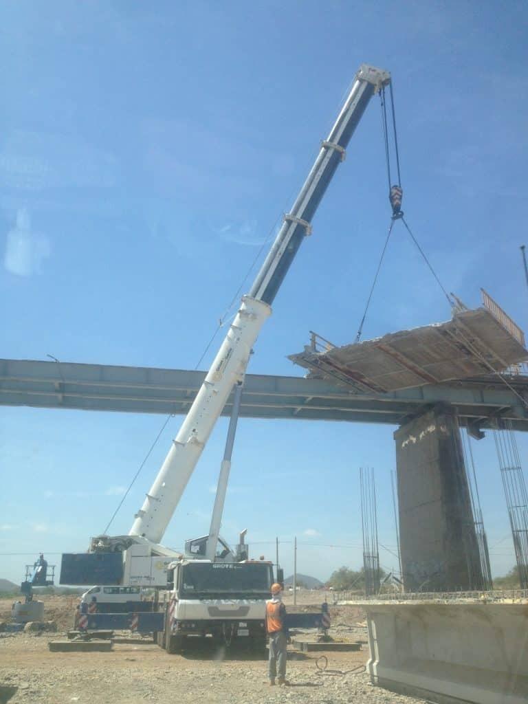 montaje de puente