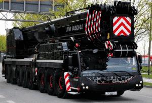 Liebherr ltm 1450 550 tons