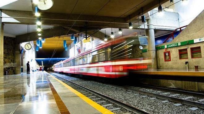 Obras del tren ligero