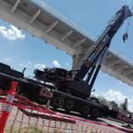 grúa liebherr 500 ton