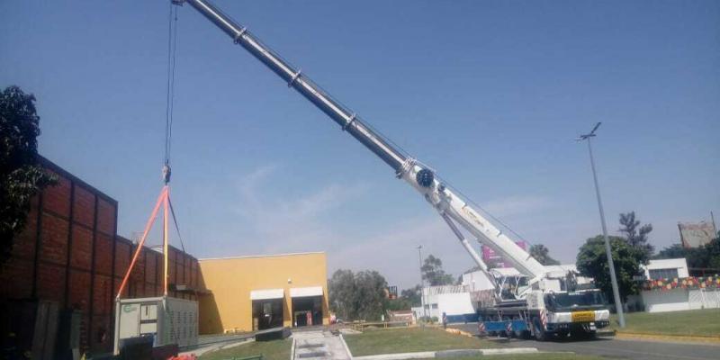 Elevación de turbina