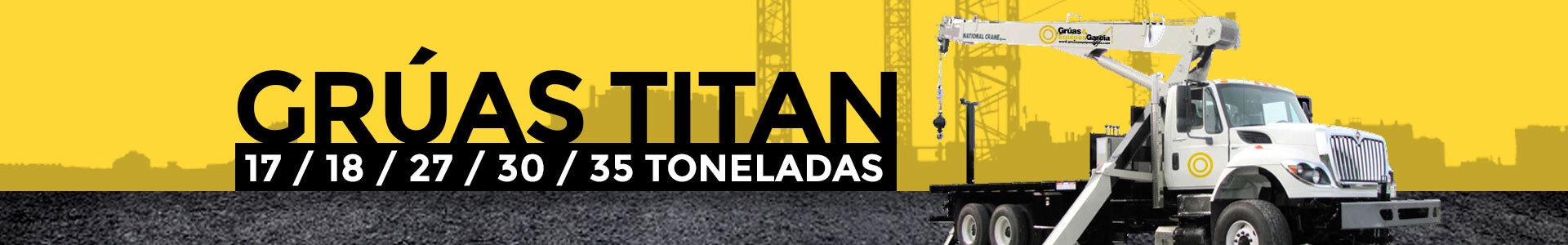 Renta de Grúas Titan 2020