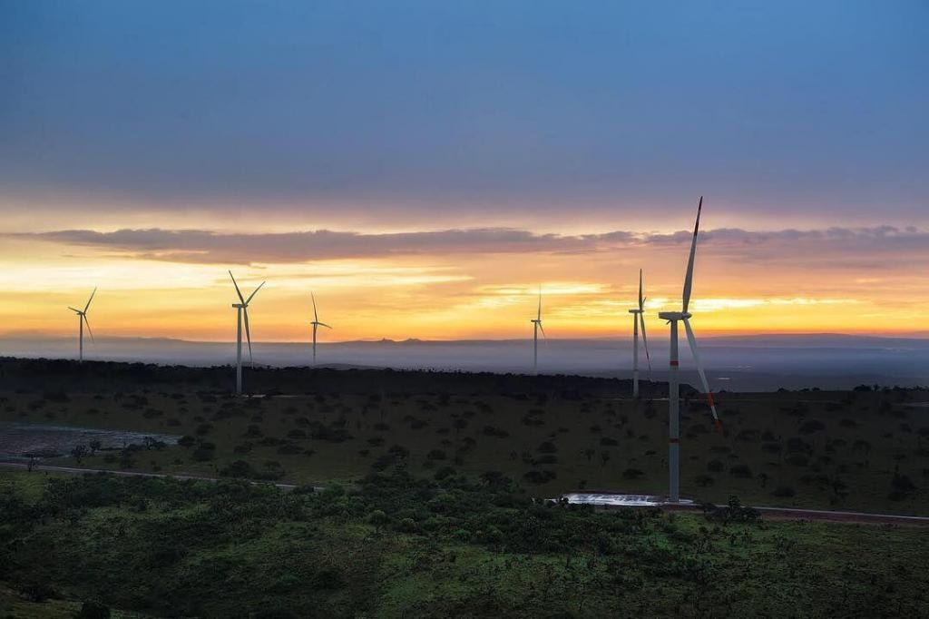 gruas para parques eolicos