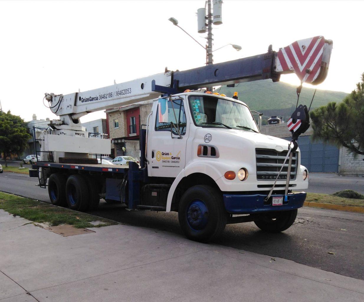 camion grua simon