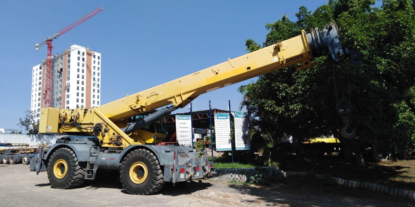 grua grove 60 ton